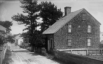 Phenomenal The Nantucket Lean To House Nantucket Preservation Trust Interior Design Ideas Gentotthenellocom
