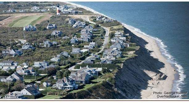 'Sconset Bluff (Photo Courtesy Siasconset Beach Preservation Fund website