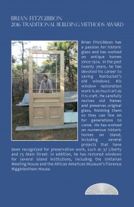 Traditional Building Methods Award