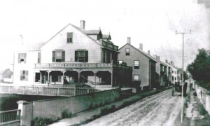 35 India Street c. 1786, Courtesy Nantucket Historical Association