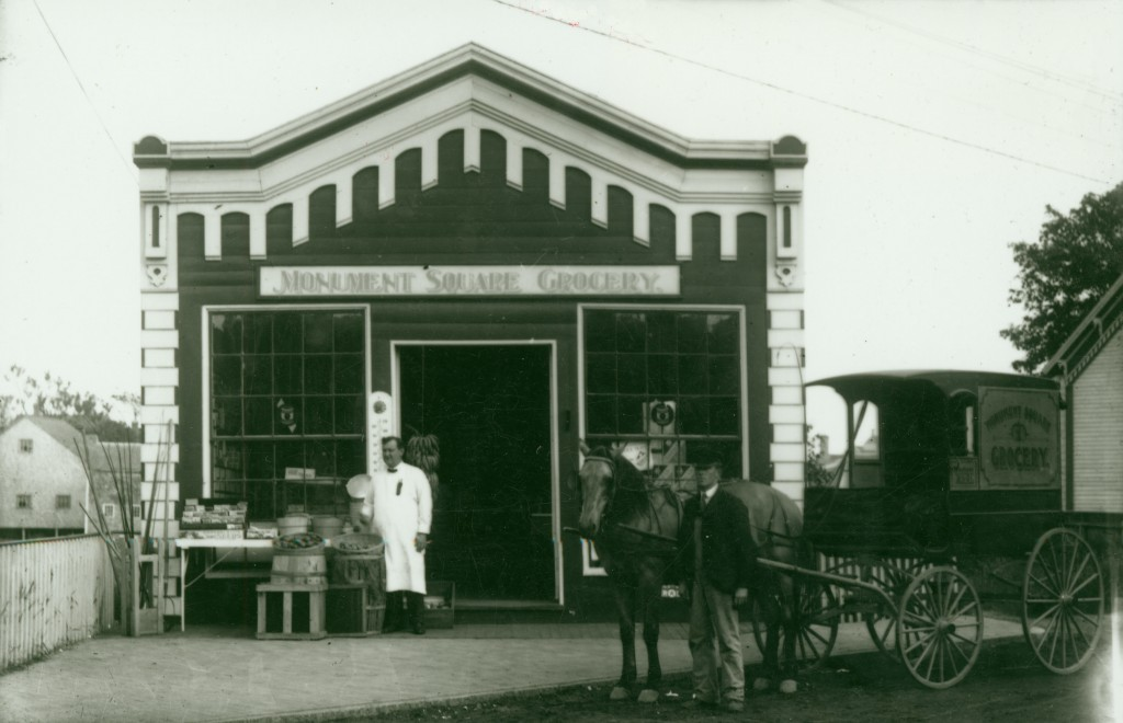 Monument Square Grocery (photo courtesy of the NHA)