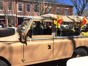 2015 Daffodil Festival NPT Antique Car on Main Street